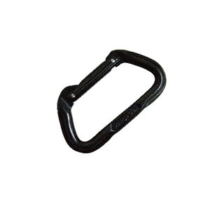 5ive Star Gear Omega Pacific Standard Straightgate D Carabiner Aluminum Black
