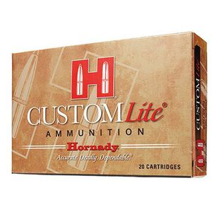 Hornady Custom Lite 7mm Rem Mag 139 Grn SST 20 Rnd Box