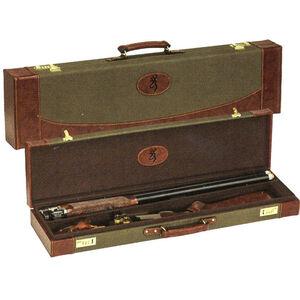 "Browning Signature Encino II Luggage Case High Rib O/U Shotguns Up to 32"" Barrels Sage Green Redwood"