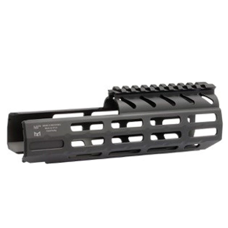 """Midwest Industries SIG Sauer MPX 8.0"""" One Piece Drop In M-LOK Compatible Hand Guard 6061 Aluminum Hard Coat Anodized Finish Matte Black"""