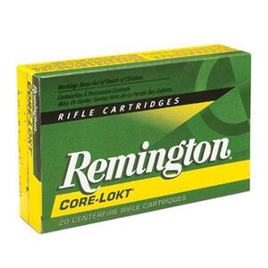 Remington Express .308 Marlin Express Ammunition 20 Rounds 150 Grain Core-Lokt Soft Point Projectile 2725fps