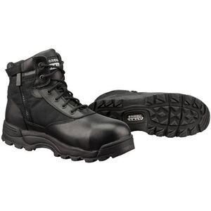 "Original S.W.A.T. Classic 6"" WP SZ Safety Men's Boot Size 11 Regular Composite Safety Toe ASTM Tested Non-Marking Sole Leather/Nylon Black 116101-11"