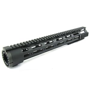 "TacFire AR-15 Free Float Handguard Detachable Rails 15"" Aluminum Black HG03-15"