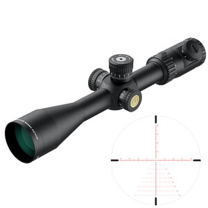 Athlon Optics Argos BTR GEN2 6-24x50 Rifle Scope ATMR FFP MOA Illuminated Reticle 30mmTube Slide Focus Black.