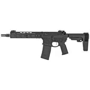 "Noveske Gen 4 Shorty AR-15 5.56 NATO Semi Auto Pistol 10.5"" Barrel 30 Rounds NSR Free Float M-LOK Hand Guard SBA3 Stabilizing Brace Matte Black"