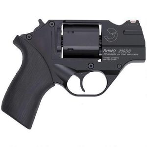 "Chiappa Rhino 200DS 357 Mag 2"" 6rds Rubber Grip Black"