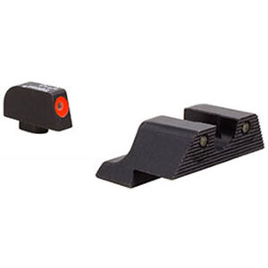 Trijicon HD XR Night Sight Set Orange Front Outline for Glock Models 20/21/29/30/41 (including S and SF variants)