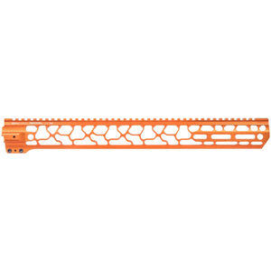 "ODIN Works AR-15 17.5"" M-LOK Ragna Free Float Forend Orange Finish"