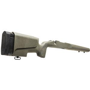 Mc3 Legend Deluxe BDL Stock fits Remington 700 BDL Short Action Varmint/Sendero Barrel Contour Cheek Riser and LOP System Polymer Olive