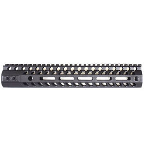 "2A Armament AR-15 Aethon Rail 12"" M-LOK Compatible Free Float Hand Guard 6061 Extrusion Aluminum Hard Coat Anodized Matte Black"