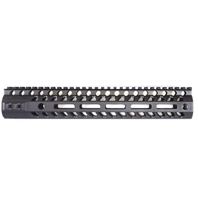"2A Armament AR-15 Aethon Rail 12"" M-LOK Compatible Free Float Hand Guard 6061 Extrusion Aluminum Hard Coat Anodized Matte Black"