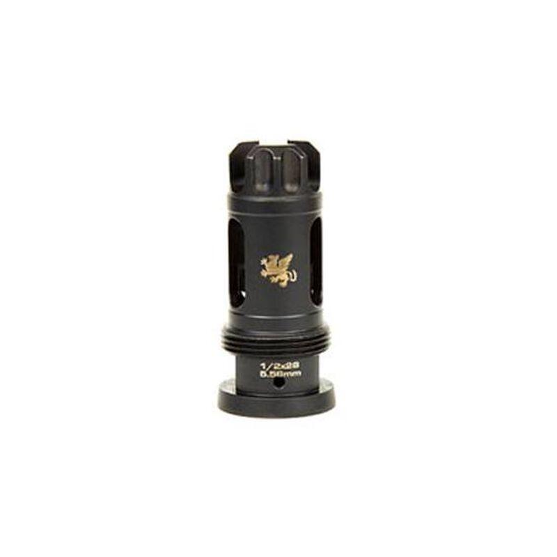 Griffin Armament Taper Mount Flash Comp 5.56 1/2x28