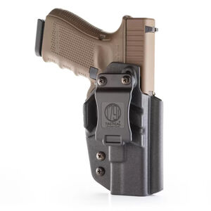 1791 Gunleather Tactical Kydex IWB Holster for Most GLOCK Models Right Hand Draw Kydex Matte Black