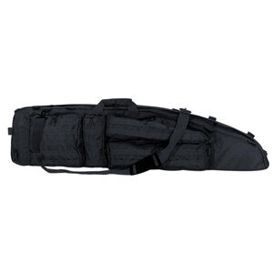 "Voodoo Tactical Ultimate Drag Bag 53"" Overall Length Rugged Pack Cloth Construction Black"