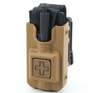Eleven 10 RIGID TQ Case for SOFTT/SOFTT-W Cross Front Polymer Malice Clips Plain Finish Coyote