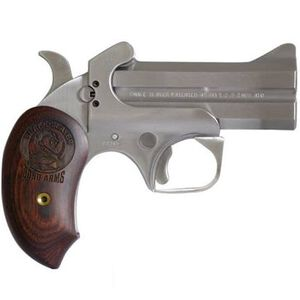 "Bond Arms Snake Slayer .45LC/.410 Bore Break Action Derringer 3.5"" Barrels 2 Rounds Extended Rosewood Grip Front Blade Sight/Fixed Rear Sight Natural Finish"