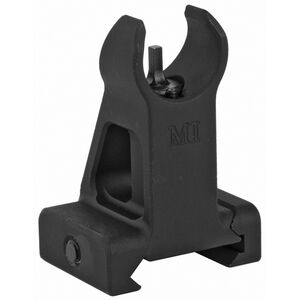 Midwest Industries AR-15 Combat Rifle Fixed Front Sight HK Sight Picture Picatinny Mount Aluminum Black