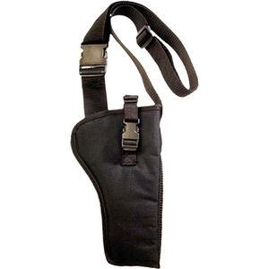 "Bulldog Cases Bandolier Holster Fits 6.5"" to 8.375"" Barrel Revolvers Right Hand Nylon Black"