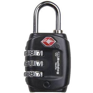 Bulldog Cases TSA Lock with Steel Shackle Black BD8020