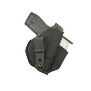 DeSantis Tuck-This II Inside the Waistband Holster For GLOCK 26/27,Beretta Nano/S&W M&P Shield with Laser Ambidextrous Nylon Black M24BJU4Z0