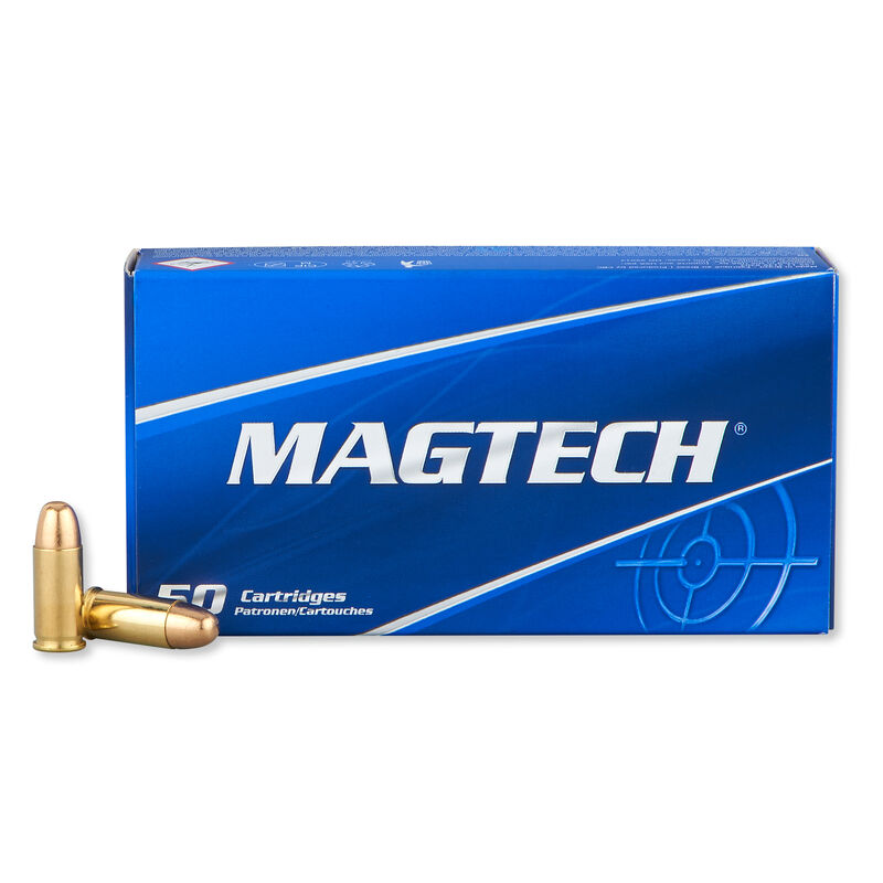 Magtech .32 ACP Ammunition 50 Rounds FMJ 71 Grains 32A
