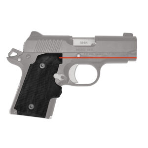 Crimson Trace Kimber Micro 9 Red Lasergrip Polymer Black