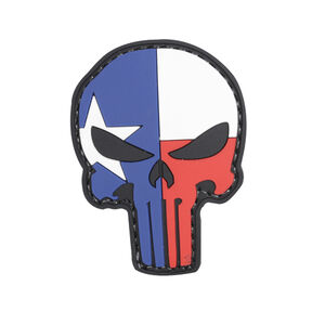 5ive Star Gear Lone Star Punisher Texas Flag PVC Red White Blue and Grey