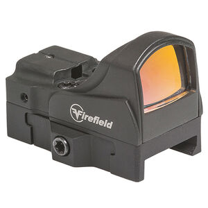 Firefield Impact Mini Reflex Sight 5 MOA Red Dot Reticle Infinite Eye Relief Aluminum Matte Black Finish