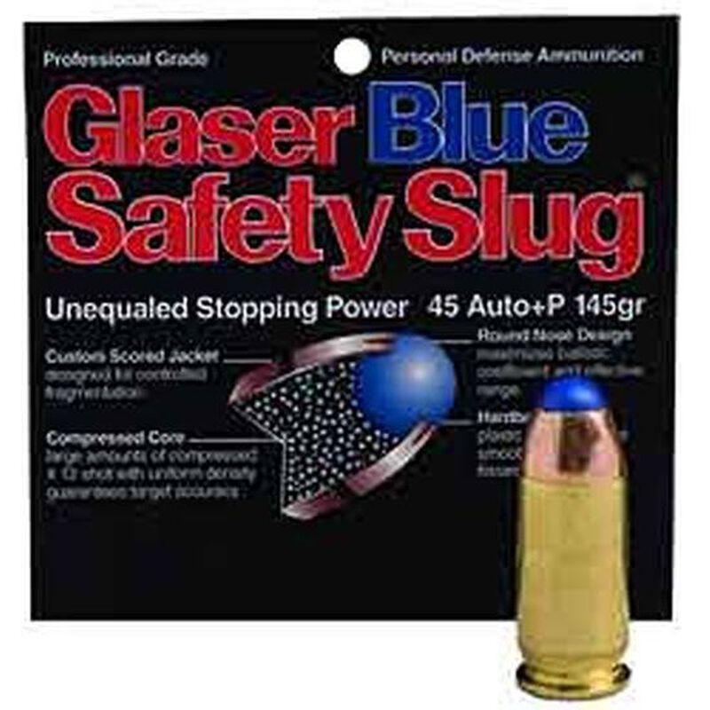38 Special +P Glaser Silver Safety Slug 80 Grain #6 Shot 1,250 fps 6  Rounds 2400