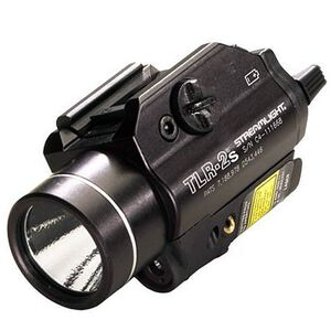 Streamlight TLR-2s Rail Mounted Tactical Light and Laser, C4 LED, Strobing, Black