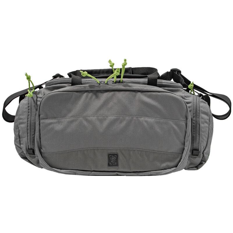 Grey Ghost Gear Range Bag 9x20x7 1260 Total Cubic Inches 500D Nylon Gray