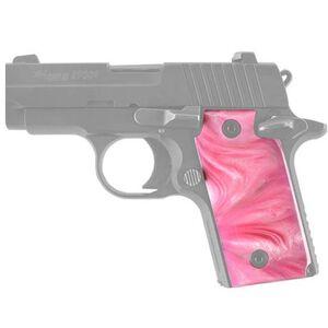 Hogue Pearlized Grip Panels SIG Sauer P238 Polymer Pink 38518
