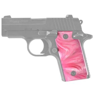Hogue Pearlized Grip Panels SIG Sauer P238 Polymer Pink 38518
