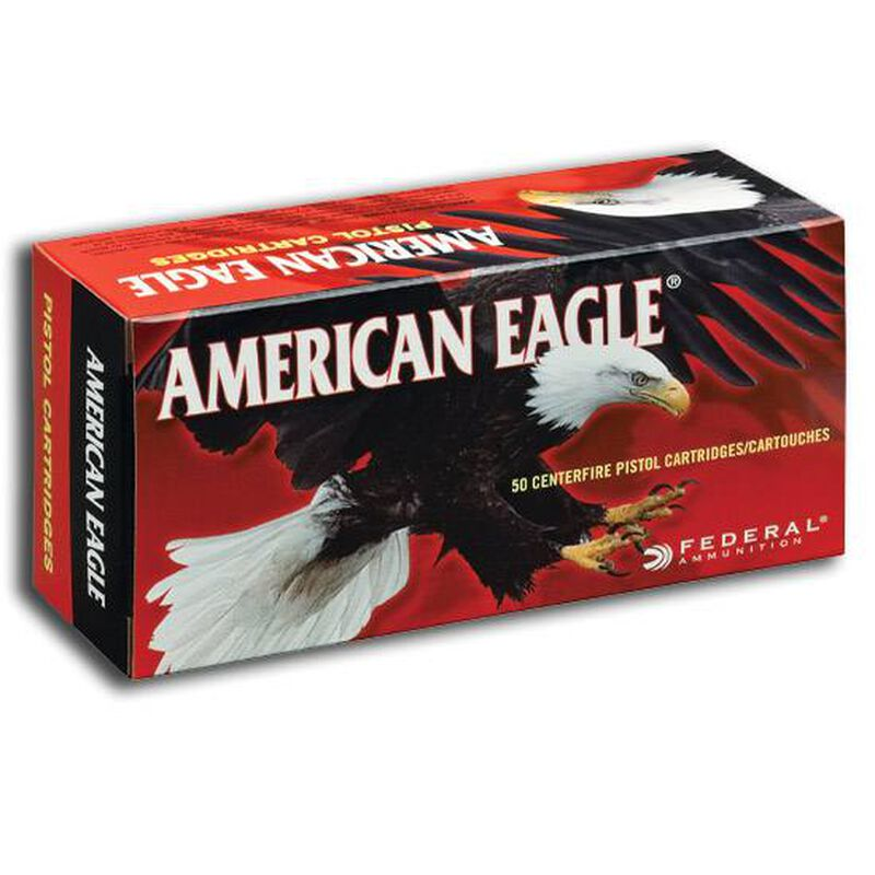 Federal American Eagle .22LR Ammunition 40 Grain LRN 1240 fps