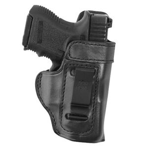 """Don Hume H715-M 2"""" S&W .38 Body Guard with Laser Clip On Inside the Pants Holster Right Hand Leather Black"""