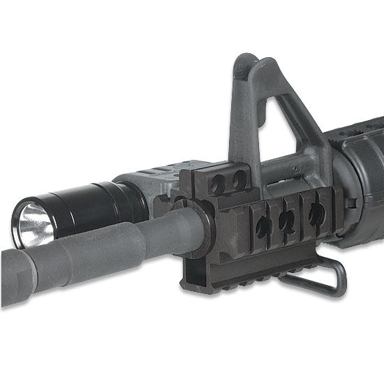 Leapers UTG Tri-rail Mount Front Sight Attachment 3 Barrel Sizes MNT-BR101TR-A