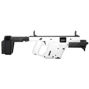 "Kriss USA Kriss Vector Gen II SDP-SB Enhanced 10mm Auto Semi Auto Pistol 6.5"" Barrel 15 Rounds Pistol Stabilizing Brace Alpine White Finish"