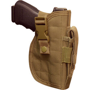 Voodoo Tactical Large Frame Adjustable Hip Holster Right Hand Coyote Tan 25-001407000