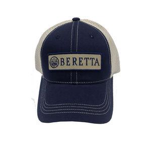 Beretta Truckers Cap Flat Bill Mesh Back Patch OSFM Green
