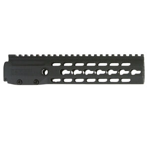 "Barrett BRS Barrett Rail System AR-15 KeyMod Free Float Handguard Kit 9"" Mid-Length 6061 T6 Aluminum Anodized Matte Black Finish 15113"