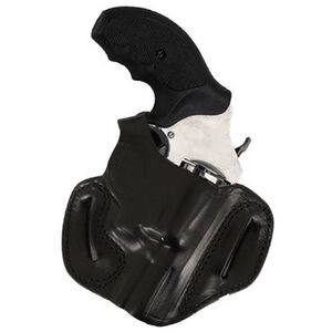 DeSantis 085 Thumb Break Mini Slide Belt Holster For GLOCK 17/19/22/23 Right Hand Leather Black 085BAE1Z0
