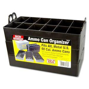 MTM Case-Gard .50 Caliber Ammo Can Organizer Tray 3 Pack Black ACO