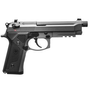 "Beretta M9A3 9mm Semi Auto Pistol 5"" Threaded Barrel 17 Rounds Night Sights Type F Gray Frame and Slide"