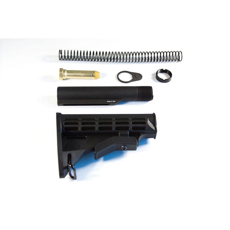 JE Machine Mil-Spec Adjustable Stock/Tube/Spring/Buffer Combo (Tan)