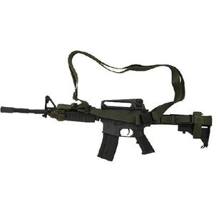 Voodoo Tactical Three Point Rifle Sling Olive Drab Green