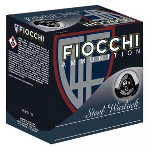 "Fiocchi Steel Warlock 12 Gauge Ammunition 3"" #3 1-1/5 oz Steel Shot 1550 fps"