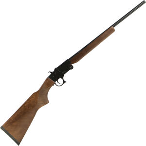 "Hatfield SGL Youth Single Shot .410 Bore Break Action Shotgun 20"" Barrel 3"" Chamber 1 Round Walnut Stock Black Finish"