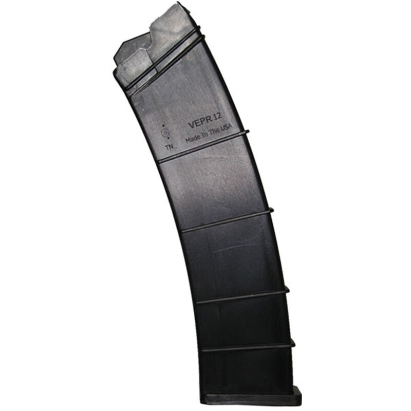 SGM Tactical Vepr 12 Gauge Magazine 12 ga. 12 Rounds Polymer Black SGMTV1212