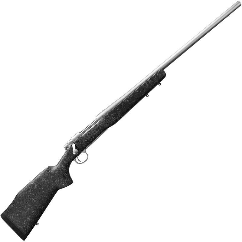 """Remington 700 Long Range Stainless 6.5 Creedmoor Bolt Action Rifle 26"""" Heavy Barrel 4 Rounds Bell & Carlson M40 Synthetic Stock Stainless Steel Finish"""