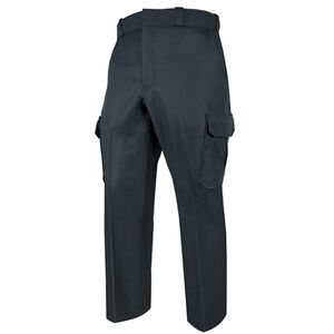Elbeco TEXTROP2 Men's Cargo Pants Waist 36 Unhemmed Polyester Textured Serge Weave Midnight Navy